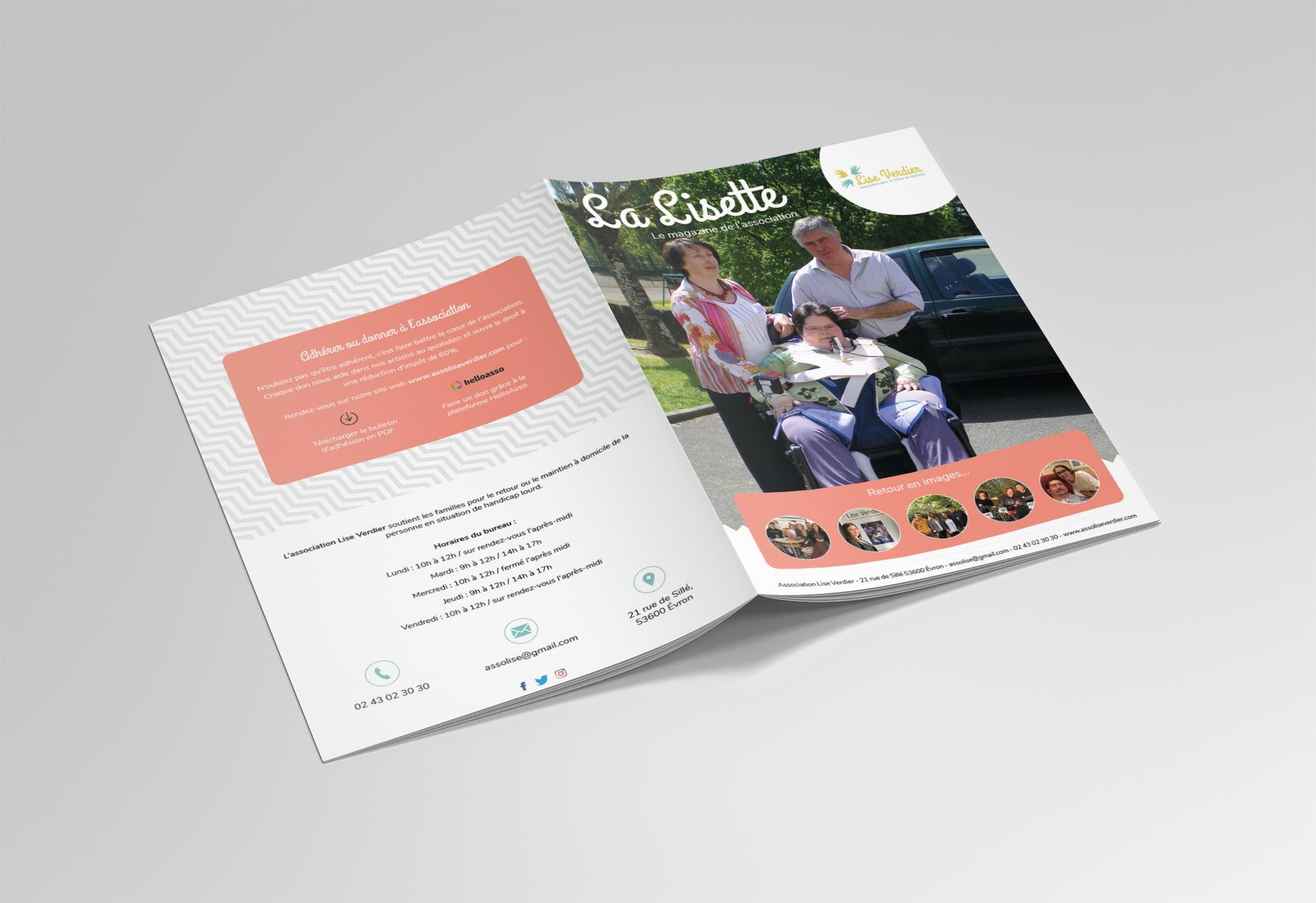Téléchargez notre magazine La Lisette